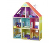 Peppa Pig Deluxe Wooden Playhouse Toys Canada [Sale]