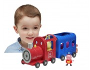 Peppa Pig Miss Rabbits Train and Carriage Playset Toys Canada [Sale]