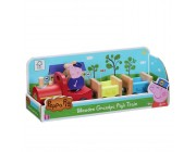 Peppa Pig Peppa's Wood Play Train and Figure Playset Toys Canada [Sale]