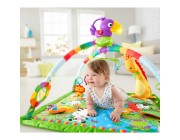 Fisher-Price Rainforest Music & Lights Deluxe Gym Baby Toy Canada [Sale]