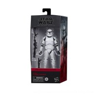 Hasbro Star Wars The Black Series Phase I Clone Trooper Toy 6-Inch Scale Star Wars: The Clone Wars Figure Canada [Sale]
