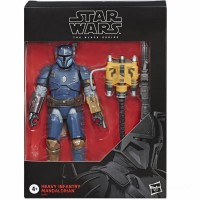 Hasbro Star Wars The Mandalorian The Black Series Heavy Infantry 6 Inch Action Figure Canada [Sale]