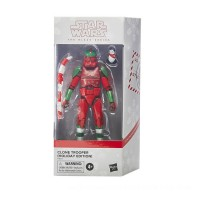 Hasbro Star Wars The Black Series Clone Trooper (Holiday Edition) and Porg 6-Inch Scale Action Figure Canada [Sale]