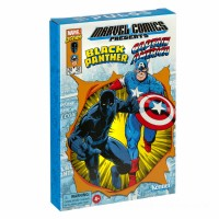 Hasbro Marvel Legends RETRO 3.75-inch Collection Captain America & Black Panther 2-Pack Action Figure Canada [Sale]