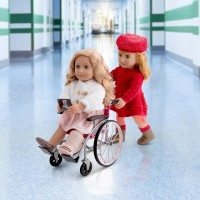 Our Generation Care Set with Foldable Wheelchair doll Canada [Sale]