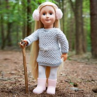 Our Generation Winter Style Sweater Dress Outfit doll Canada [Sale]
