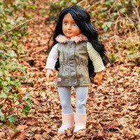 Our Generation Fun Fur Fall Parka Vest Outfit doll Canada [Sale]