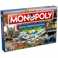 Monopoly Board Game - Royal Windsor Edition Canada [Sale]