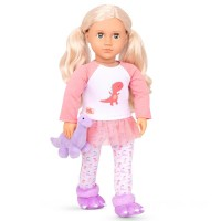 Our Generation Girl Deluxe PJ Dino Outfit doll Canada [Sale]