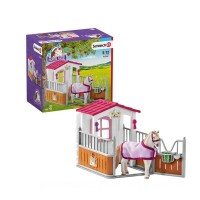 Schleich Horse stall with Lusitano mare Toys Canada 2021 [Sale]