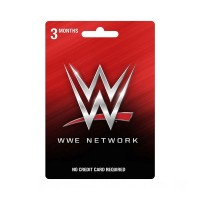 WWE Network 3-Month Subscription Prepaid Card Figures  Toys Canada