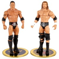WWE Battle Pack Series 2 The Rock and Triple H Figures  Toys Canada