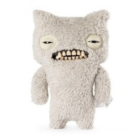 Fuggler 22cm Funny Ugly Monster - Munch (Fuzzy White) Canada [Sale]