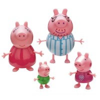 Peppa Pig Family Figure Pack Bedtime Toys Canada [Sale]