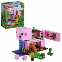 LEGO Minecraft The Pig House Building Set 21170 Toys Canada [Sale]