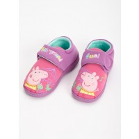Peppa Pig Pink Cupsole Slippers - 4-5 Infant Toys Canada [Sale]