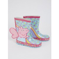 Peppa Pig Blue Butterfly Wellies - 9 Infant Toys Canada [Sale]