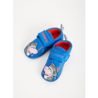 Peppa Pig Blue George Shark Slippers - 4-5 Infant Toys Canada [Sale]