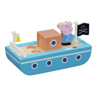 Peppa Pig Peppa's Wood Playboat and Figure Playset Toys Canada [Sale]
