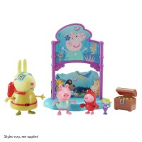 Peppa's Under the Sea Mermaid Party Book Playset Toys Canada [Sale]