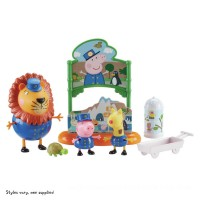 Peppa's Day at the Zoo Book Playset Toys Canada [Sale]