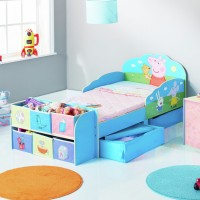 Peppa Pig Toddler Bed with Cube Storage Toys Canada [Sale]