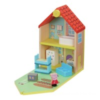 Peppa Pig Peppa's Wood Play Family Home Playset Toys Canada [Sale]