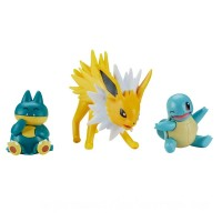 Pokémon Munchlax, Squirtle and Jotleon Battle Figure 3 Pack Canada [Sale]