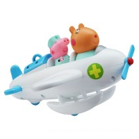 Peppa Pig and Dr Hamster Aeroplane and Figure Playset Toys Canada [Sale]