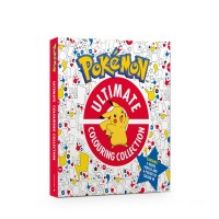 Official Pokemon Ultimate Colouring Collection HB Book Pack Canada [Sale]