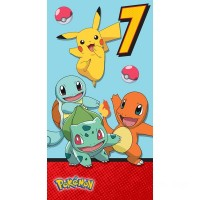 Pokémon Age 7 Birthday Card Canada [Sale]