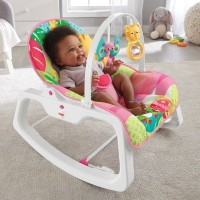 Fisher-Price Infant-to-Toddler Rocker Pink Canada [Sale]