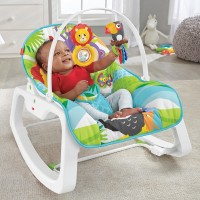 Fisher-Price Infant-to-Toddler Rocker Green Rainforest Canada [Sale]