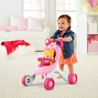 Fisher-Price Princess Stroll-Along Musical Walker and Doll Gift Set Canada [Sale]