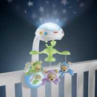 Fisher-Price Butterfly Dreams 3-in-1 Newborn Baby Light Projector Mobile Canada [Sale]