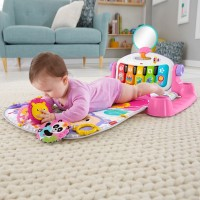 Fisher-Price Piano Baby Play Mat and Play Gym Pink Canada [Sale]