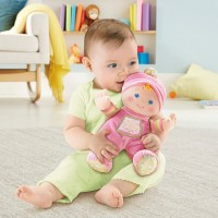 Fisher-Price Brilliant Basics Baby's 1st Doll Canada [Sale]