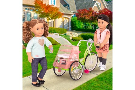 Our Generation Food Delivery Bike doll Canada [Sale]