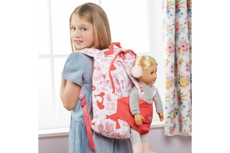 Our Generation Hop On Doll Carrier Back Pack - Party doll Canada [Sale]