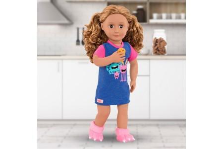 Our Generation Snuggle Monster Pj Outfit doll Canada [Sale]