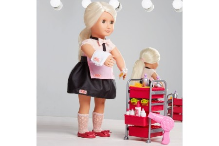 Our Generation Berry Nice Salon Set doll Canada [Sale]