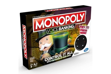 Hasbro Monopoly Voice Banking Electronic Family Board Game Canada [Sale]