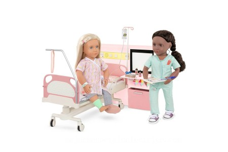 Our Generation Get Well Room doll [ Black Friday ]