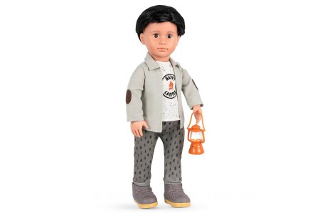 Our Generation Boy Camping Deluxe Outfit doll Canada [Sale]