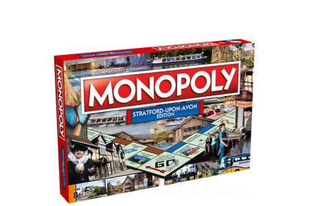 Monopoly Board Game - Stratford Edition Canada [Sale]