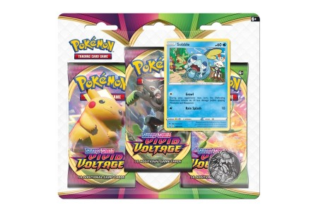 Pokémon TCG: Sword & Shield - Vivid Voltage Three-Booster Blister Assortment Canada [Sale]