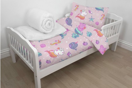 Peppa Pig Bed in a Bag Set - Toddler Toys Canada [Sale]