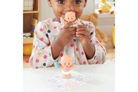 Fisher-Price Little People Babies Snuggle Twins 2-Pack - Assortment Canada [Sale]