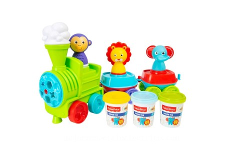 Fisher-Price Let's Dough Train [ Black Friday ]