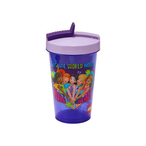 Lego Friends Tumbler With Straw [ Black Friday ]